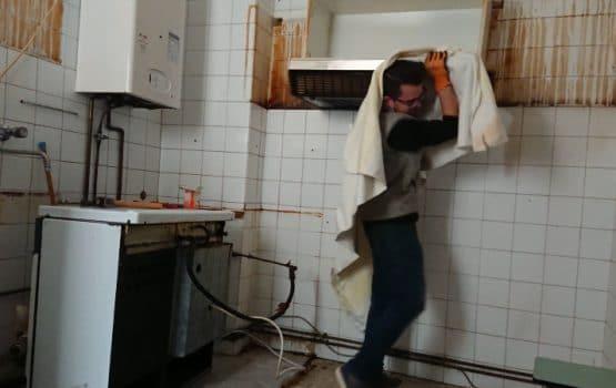 desmantelamiento cocina